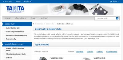 Tanita-eshop.cz
